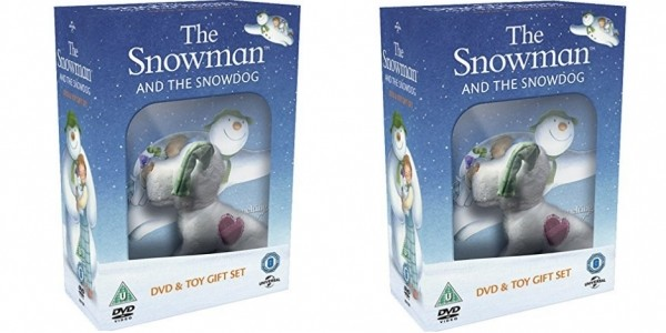 The Snowman and the Snowdog (DVD and Toy Gift) £4.25 Delivered @ Zoom