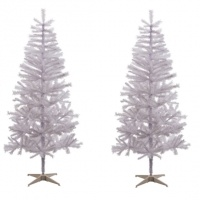 White Lapland Christmas Tree - 6ft £16.99