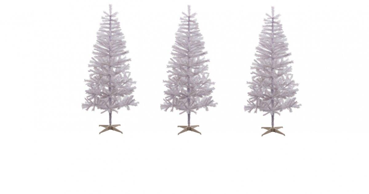 6ft White Christmas Tree
