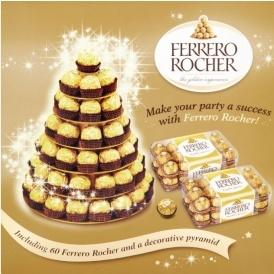 60 Ferrero Rocher Stand £15 @ Asda