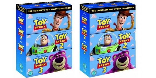 The Complete Toy Story DVD Collection £7.50 @ Amazon