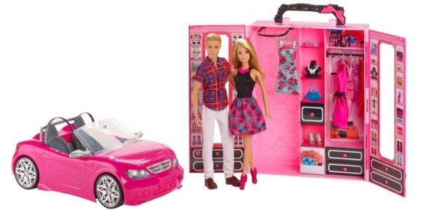 Barbie Convertible Car And Closet Set £30 (was £60) @ Asda George