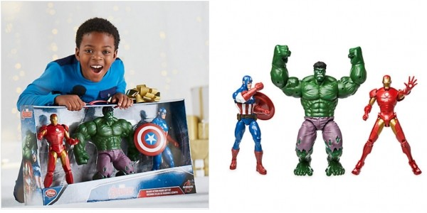 Avengers Deluxe Action Figure Gift Set £36 (was £59.99) @ The Disney Store (Expired)