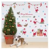 Christmas Decorative Wall & Window Stickers