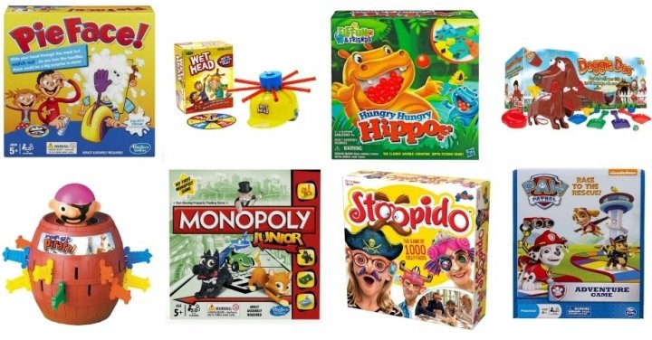 3 For 2 On ALL Board Games @ Smyths Toys. There's big popular games like Monopoly*, Wet Head*, Pie Face*, Cluedo*, and lots lots more. What's even better is that lots are already reduced in price, so you get the sale price, plus the 3 for 2! If you're after Speak Out, Pie Face Showdown or Soggy Doggy then you're out of luck I'm afraid.