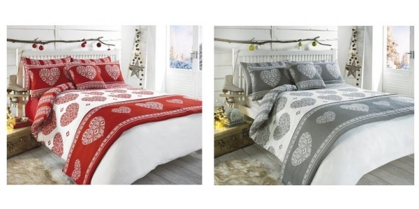 Scandi Heart Bed In A Bag From £12.99 Delivered @ Studio