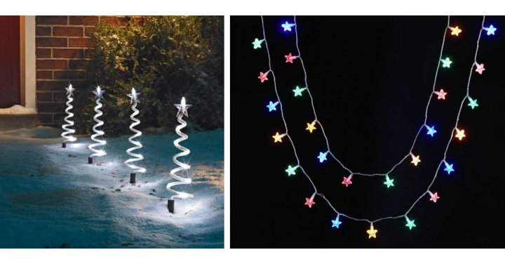 200 LED Multifunction Timer String Lights ?7.99 & Other Christmas Lighting Bargains @ Argos