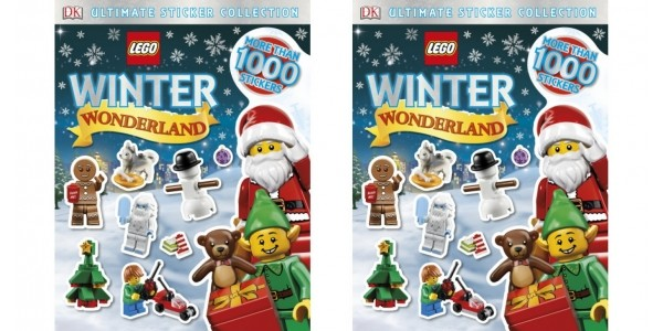 LEGO Winter Wonderland Ultimate Sticker Collection £3.85 With FREE Delivery @ Tesco Direct