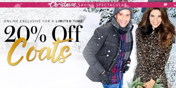 20% Off Women's & Men's Coats and Jackets @ Asda George Online