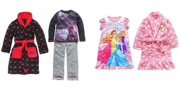Disney Princess/Star Wars Robe & PJ/Nightie Set £9.99 @ Argos