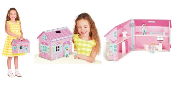 Chad Valley Wood Shed Carry Dolls House £9.99 @ Argos