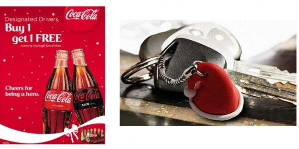 BOGOF On All Coca-Cola/Schweppes Drinks For Designated Drivers Throughout December