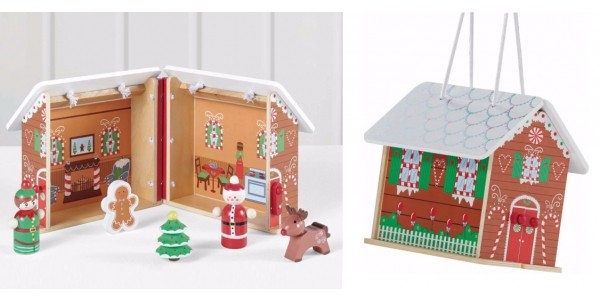 Carry Along Wooden Gingerbread House £8 (was £12) @ Asda George