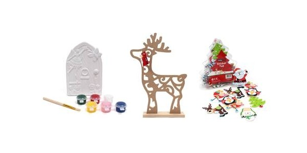 Up To Half Price Christmas Decorations & Kits @ Hobbycraft