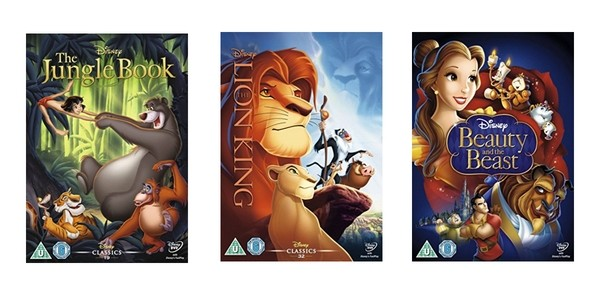 Selected Disney DVDs/Blu-Rays £5.49/£7.19 @ Amazon (Expired)