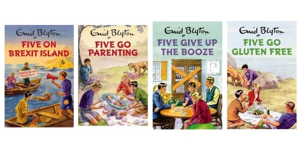 Spoof Enid Blyton Books For Grown Ups Just £2.12 @ The Book People