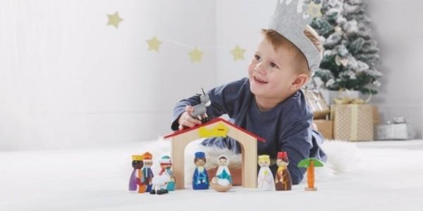 Wooden Nativity Toy Set £11 (was £15) @ Asda George