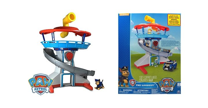 Paw Patrol Lookout Tower Play Set £22.99 @ Home Bargains