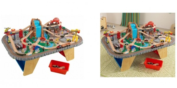 KidKraft Waterfall Junction Train Set & Table £79.99 Delivered @ Costco