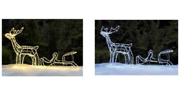 Reindeer & Sleigh Silhouette Lights £21.99 Delivered @ Studio