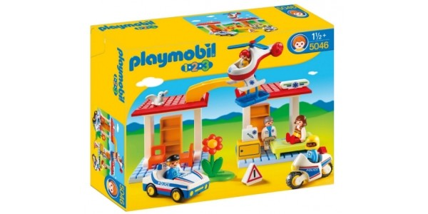 Playmobil 123 Police and Ambulance Playset £12.99 (was £59.99) @ Argos