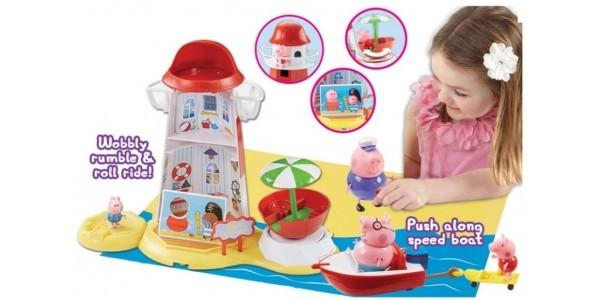 Peppa Pig Lighthouse Mega Set £10 (was £29.99) @ Argos