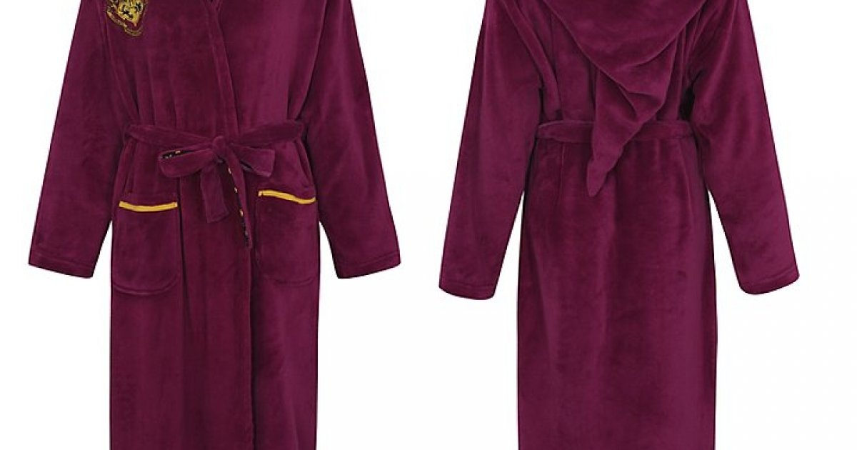 Women\'s Harry Potter Dressing Gown £18 @ Asda George