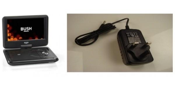 """RECALL: Bush 9"""" Portable DVD Player Sold At Argos"""