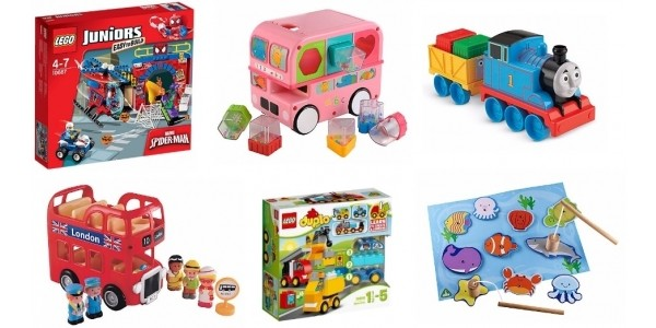 20% Off All Full Priced Toys Using Code @ ELC / Mothercare