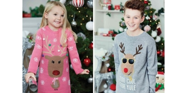 Selected Kids Christmas Jumpers Half Price Today Only @ Peacocks