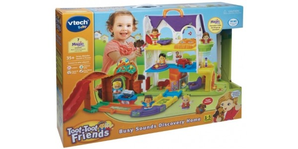 VTech Toot Toot Friends Busy Sounds Discovery House £19.99 (was £32.99) @ Smyths Toys