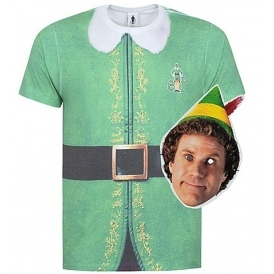 sc 1 st  Playpennies & Christmas Buddy the Elf T-shirt and Mask £10 @ Asda George