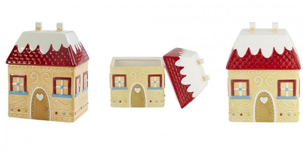 T'was the Night Before Christmas Gingerbread House Storage Jar £7.50 @ Tesco Direct