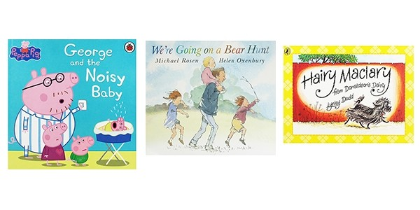 10 Children's Books For £10 Including Christmas Stories @ The Works