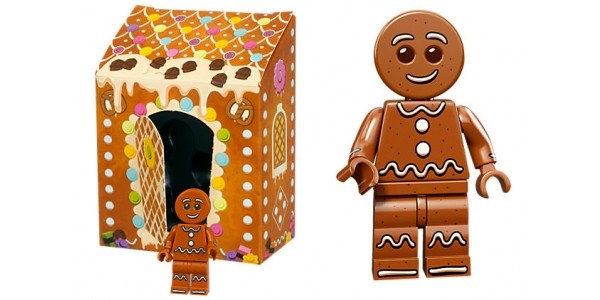 FREE Lego Gingerbread Man When You Spend Over £25 @ The Lego Shop
