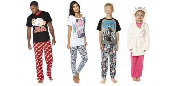 Up To 75% Off Nightwear For The Family @ Studio