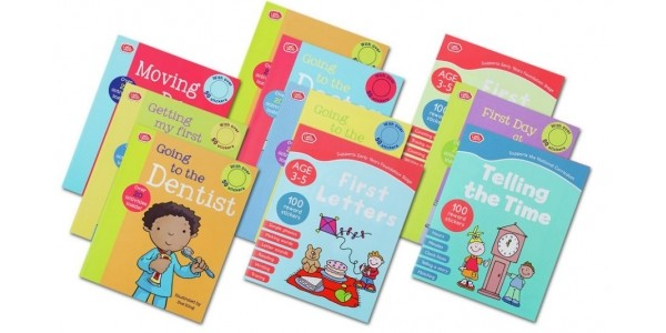 Chad Valley PlaySmart 10 Pack Preschool Fun Learning Books £4.99 (was £9.99) @ Argos