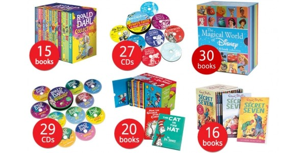 Offer Stack: Up To 85% Off + Extra 10% Off + Free Delivery When You Spend £10 (Using Codes) @ The Book People (Expired)