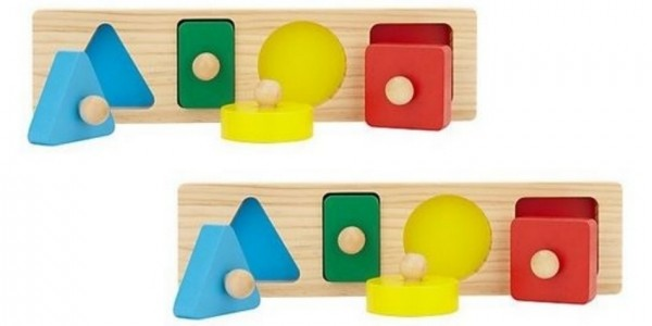 RECALL: John Lewis Wooden Shape and Colour Sorting Board