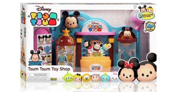 Squishy Toys Asda : 60% Off Disney Tsum Tsum Squishy Figure Toy Shop Playset @ The Entertainer