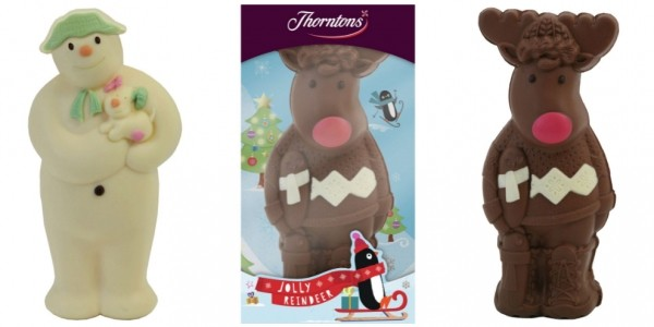 Thorntons Chocolate Snowman & Snow Dog/Reindeer £1.99 @ Argos