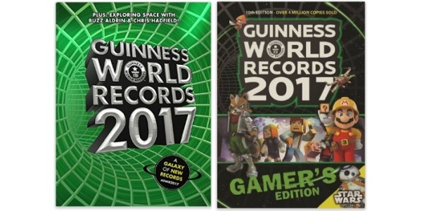 Guinness World Records 2017 / Guinness World Records 2017 Gamer's Edition £3 / £2 @ Amazon