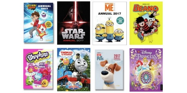 2017 Annuals Now From 50p @ Argos