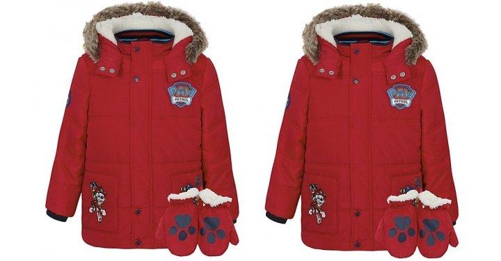 paw patrol shower resistant coat with mittens 18 asda. Black Bedroom Furniture Sets. Home Design Ideas