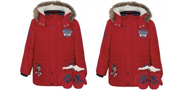 Paw Patrol Shower Resistant Coat with Mittens £18 @ Asda George