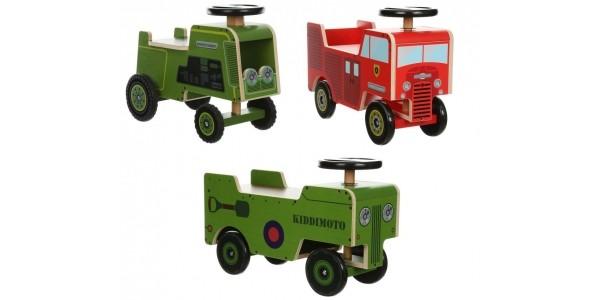 Kiddimoto Wooden Ride On Toys £20 @ Halfords