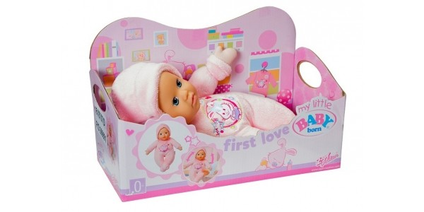 1/3 Off My Little Baby Born First Love Doll Now £5.99 @ Argos