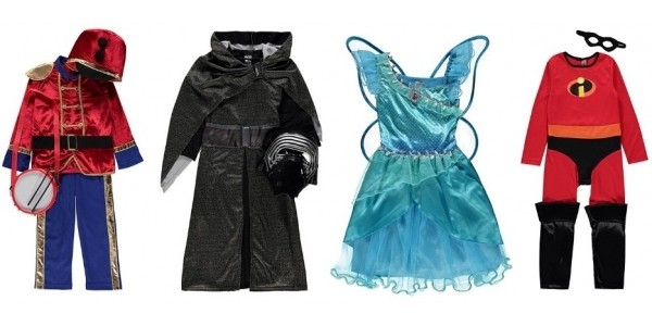 Kids Fancy Dress Costumes Now From £5 @ Asda George