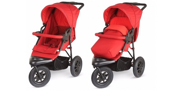 Mothercare Xtreme Pushchair Travel System Red £110 (was £270) @ Mothercare