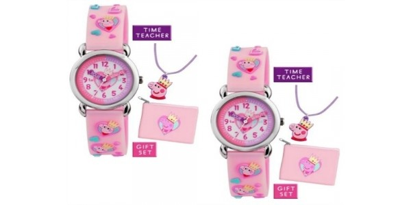 Peppa Pig Watch Gift Set £9.99 @ Argos